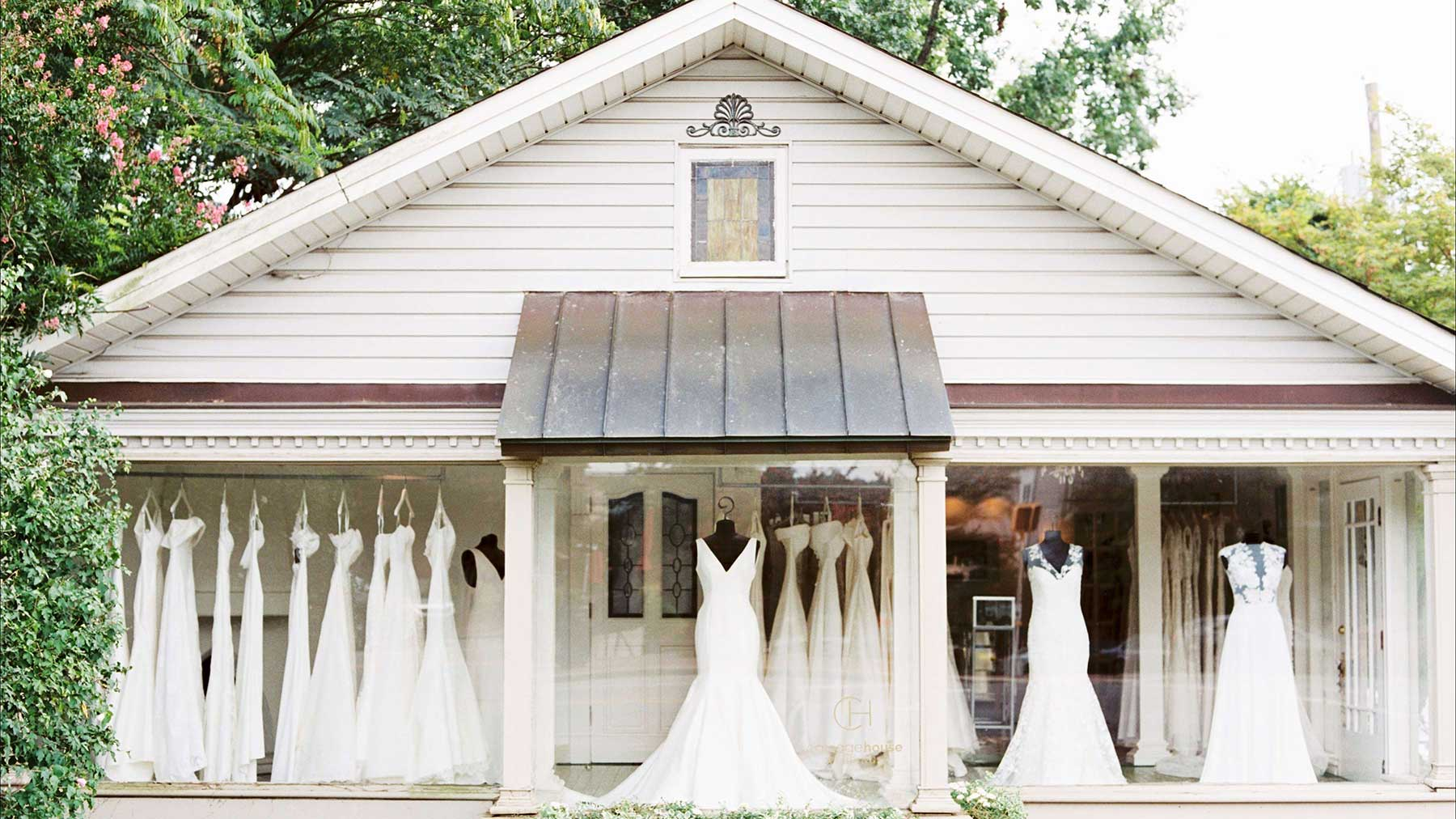 Bridal Boutique Birmingham Al Carriage House Weddings